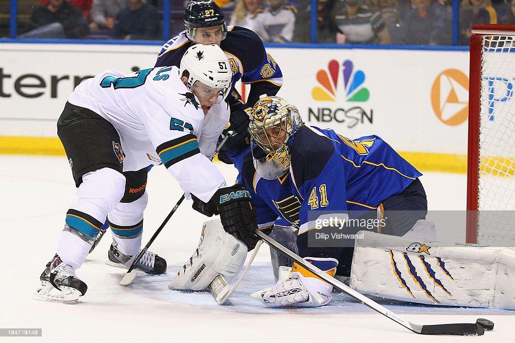 San Jose Sharks v St Louis Blues