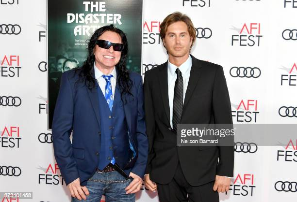 Tommy Wiseau and Greg Sestero attend the screening of 'The Disaster Artist' at AFI FEST 2017 Presented By Audi at TCL Chinese Theatre on November 12...