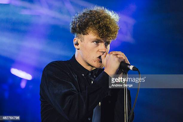Tommy Wright of Young Kato performs on the Calling Out Stage at Kendal Calling Festival on August 2, 2015 in Kendal, United Kingdom.