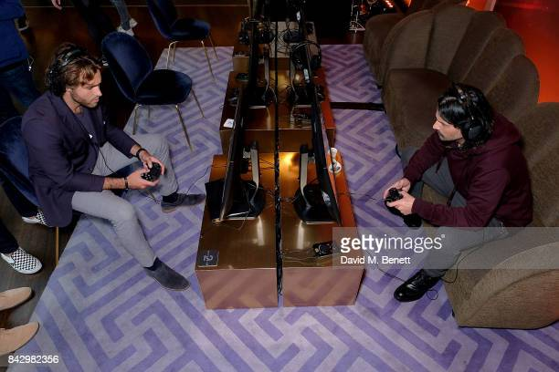 Tomo Milicevic of 30 Seconds to Mars attends the Destiny 2 launch event on PlayStation 4 Available from Wednesday 6th September 2017 #Destiny2 at...