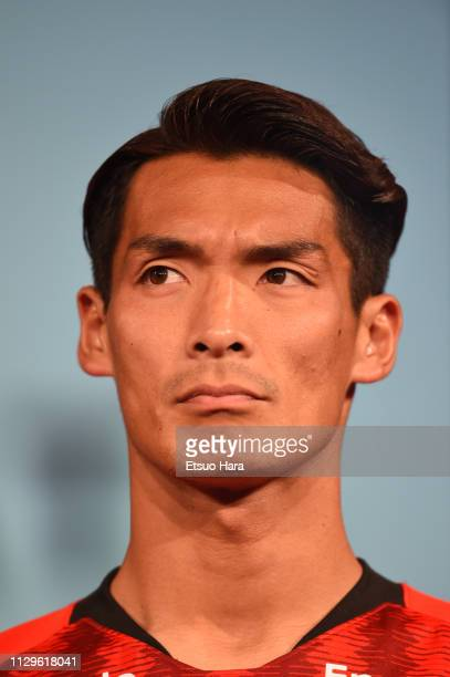 Tomoaki Makino of Urawa Red Diamonds looks on during the JLeague Kick Off Conference on February 14 2019 in Tokyo Japan