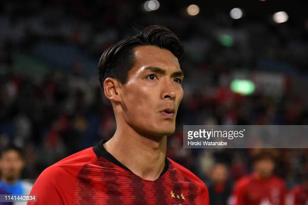 Tomoaki Makino of Urawa Red Diamonds shows dejection after his side's 01 defeat in the AFC Champions League Group G match between Urawa Red Diamonds...