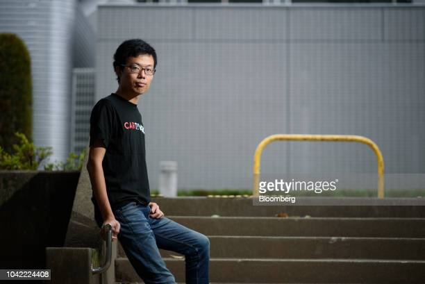 Tomohiro Fukuzawa director of Cartivator poses for a photograph in Tokyo Japan on Tuesday Sept 11 2018 Toyotabacked Japanese venture Cartivator aims...