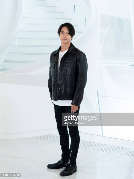 Tomohisa Yamashita attends ' The head ' photocall during day two of the MIPCOM 2019 on October 15 2019 in Cannes France
