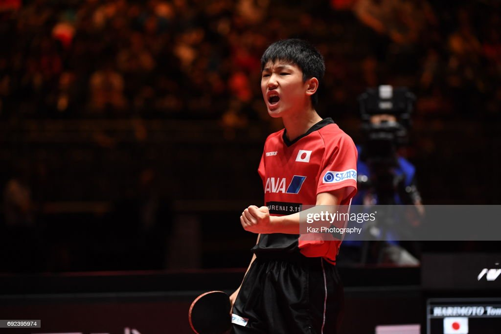 Table Tennis World Championship - Day 7 : News Photo