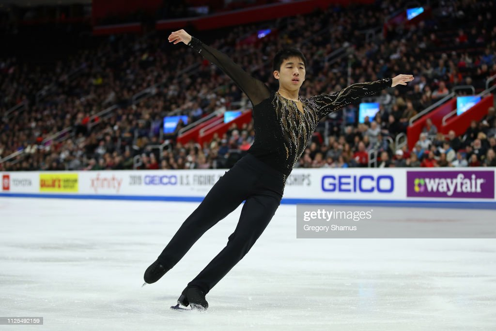 2019 U.S. Figure Skating Championships - Day 6 : News Photo