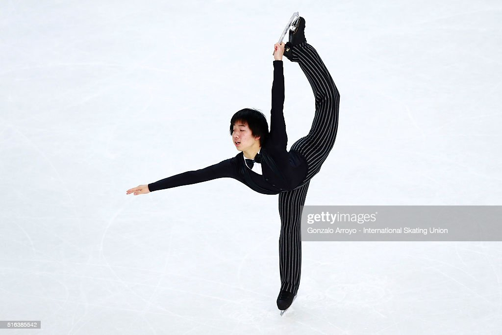 World Junior Figure Skating Championships 2016 Debrecen - Day 3 : News Photo