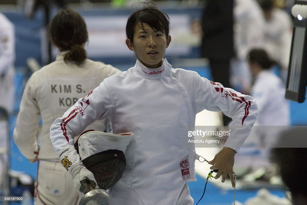 World Championship in modern pentathlon : Fencing : News Photo