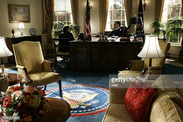 WING Tomorrow Episode 22 Aired Pictured Bradley Whitford as Josh Lyman Martin Sheen as President Josiah Jed Bartlet