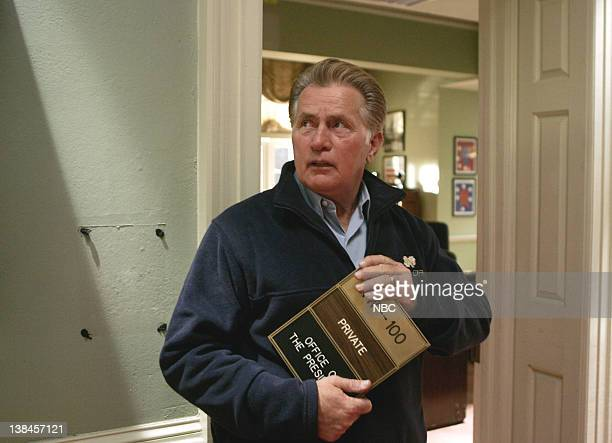 WING Tomorrow Episode 22 Aired Pictured Martin Sheen as President Josiah Jed Bartlet