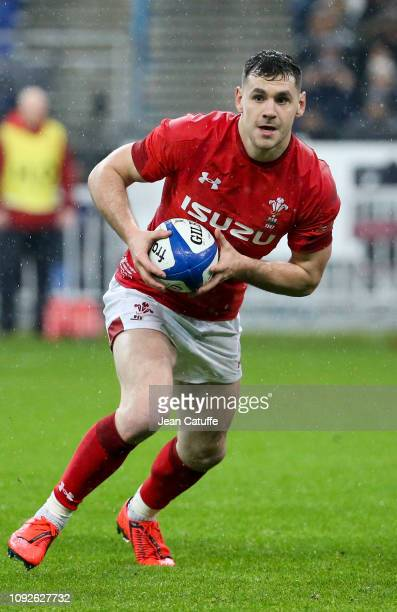 Tomos Williams of Wales during the Guinness 6 Nations rugby match between France and Wales at Stade de France on February 1 2019 in SaintDenis near...