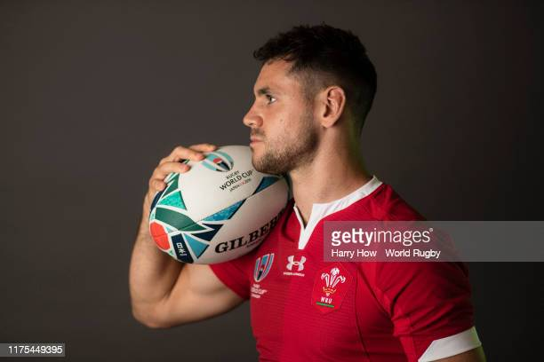 Tomos Williams of Wales poses for a portrait during the Wales Rugby World Cup 2019 squad photo call on on September 17 2019 in Kitakyushu Fukuoka...