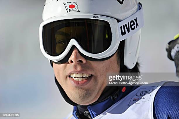 Tomoya Ishii of Japan competes during the Audi FIS Alpine Ski World Cup Men's Giant Slalom on October 27 2013 in Soelden Austria