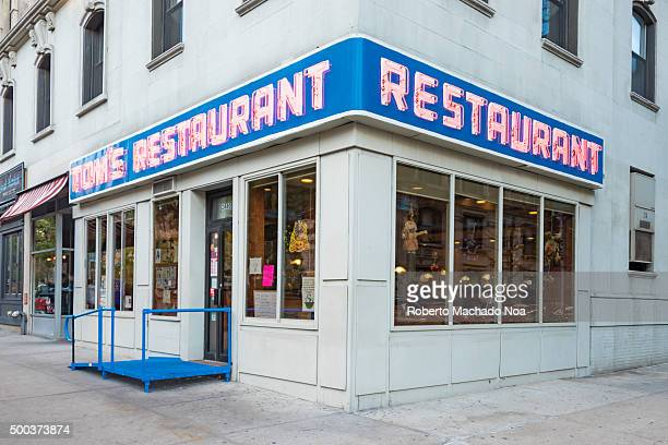 TOM'S RESTAURANT NEW YORK CITY NEW YORK UNITED STATES Tom's Restaurant featured in the sitcom Jerry Seinfield The place is a famous place and tourist...