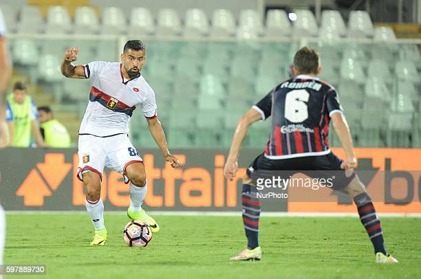 Tomás Rincón during serie A tim between Crotone v Genoa in Pescara on August 28 2016