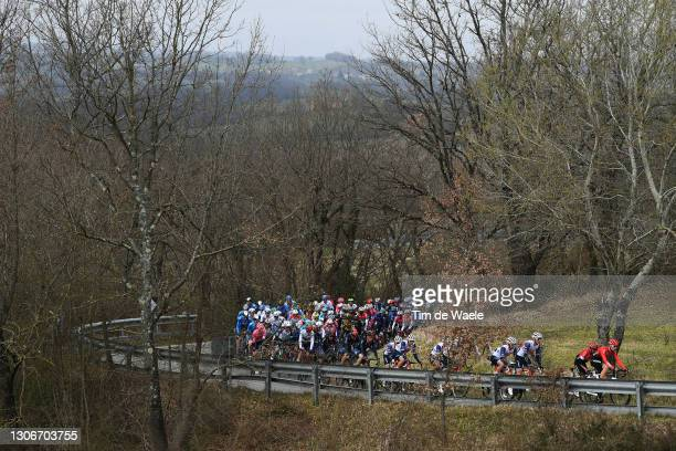 Toms Skujins of Latvia and Team Trek - Segafredo, Nairo Alexander Quintana Rojas of Colombia, Thomas Boudat of France, Laurent Pichon of France,...