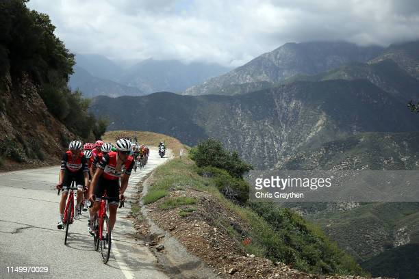 Toms Skujins of Latvia and Team Trek-Segafredo / during the 14th Amgen Tour of California 2019, Stage 6 a 127,5km stage from Ontario to Mt.Baldy...