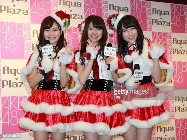 Tomu Muto,Komiyama Haruga,Kawamoto Saya fans meeting conference on 20th December, 2016 in Hongkong, China.