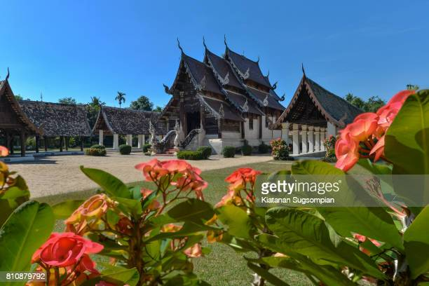 ton kain temple - chiang mai province stock photos and pictures