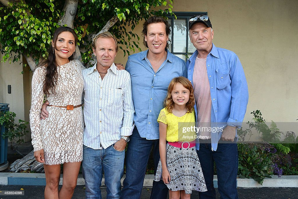 Tonantzin Carmelo, Ian McCrudden, Thomas Hildreth, Maggie Elizabeth Jones and Ted Levine arrive at the screening of 'Child Of Grace' - Arrivals at Raleigh Studios on August 11, 2014 in Los Angeles, California.