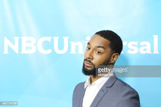 Tone Bell arrives at NBCUniversal's 2014 Summer TCA Tour Day 1 held at The Beverly Hilton Hotel on July 13 2014 in Beverly Hills California
