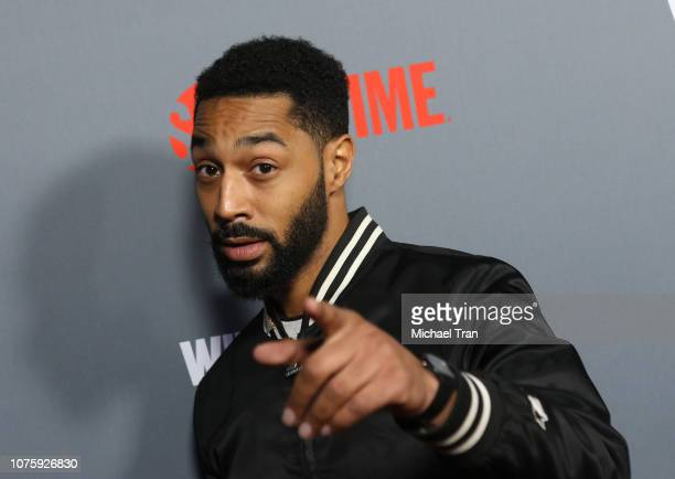 Tone Bell arrives to the Heavyweight Championship of The World Wilder vs Fury Premiere held at Staples Center on December 01 2018 in Los Angeles...