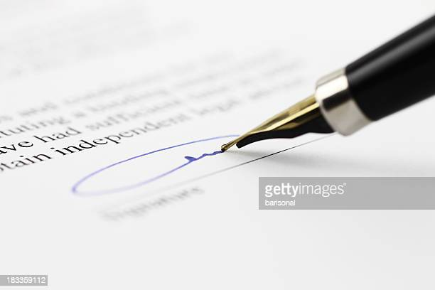 toned signature - signing stock pictures, royalty-free photos & images
