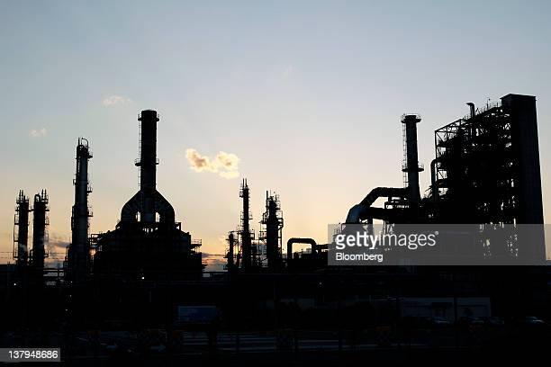 TonenGeneral Sekiyu KK's Kawasaki refinery stands in Kawasaki City Kanagawa Prefecture Japan on Monday Jan 30 2012 TonenGeneral Sekiyu KK agreed to...