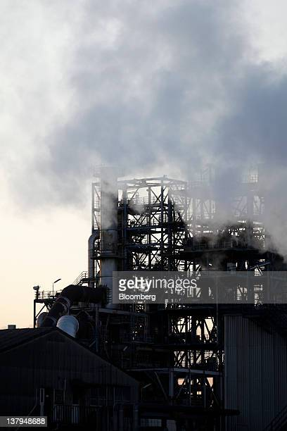 TonenGeneral Sekiyu KK's Kawasaki refinery stands in Kawasaki City Kanagawa Prefecture Japan on Monday Jan 30 2012 TonenGeneral Sekiyu KK agreed to...