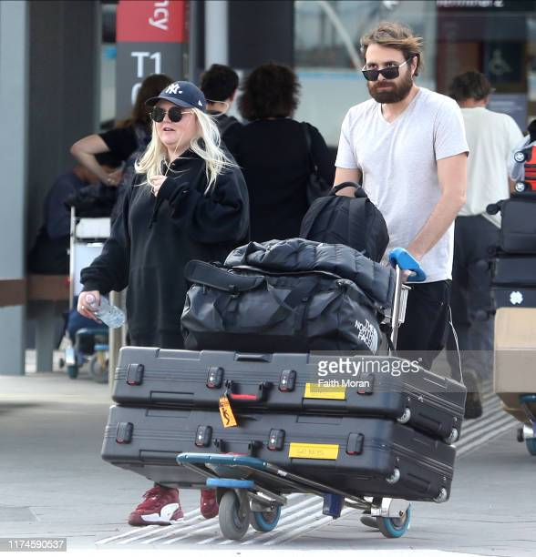 Tones and I singer Toni Watson is seen arriving at Perth Airport on September 14 2019 in Perth Australia