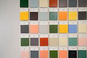 tones color wall