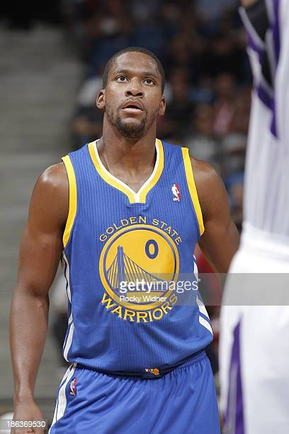 Toney Douglas of the Golden State Warriors in a game against the Sacramento Kings on October 23 2013 at Sleep Train Arena in Sacramento California...