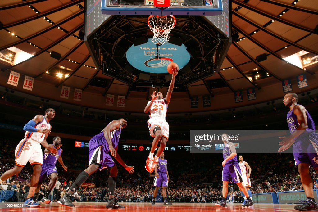 Sacramento Kings v New York Knicks