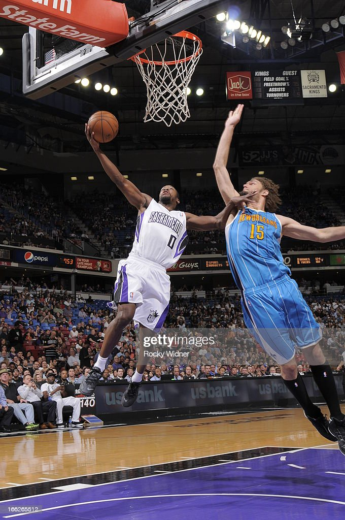 New Orleans Hornets v Sacramento Kings