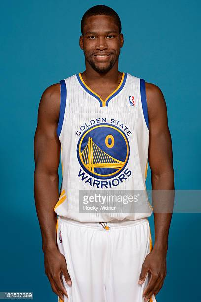 Toney Douglas poses for a photo on Golden State Warriors media day held September 27 2013 at the Warriors practice facility in Oakland California...