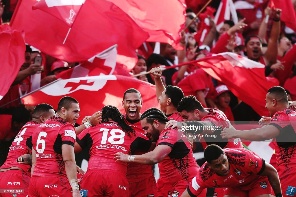 New Zealand v Tonga - 2017 Rugby League World Cup : News Photo