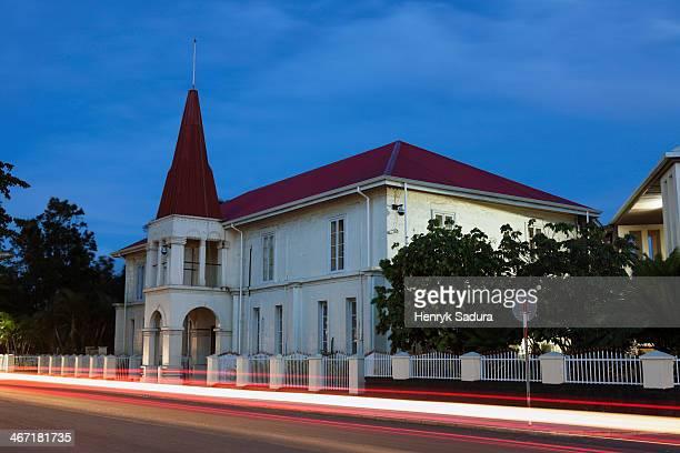 tonga, nuku'alofa, prime minister offices - nuku'alofa stock pictures, royalty-free photos & images