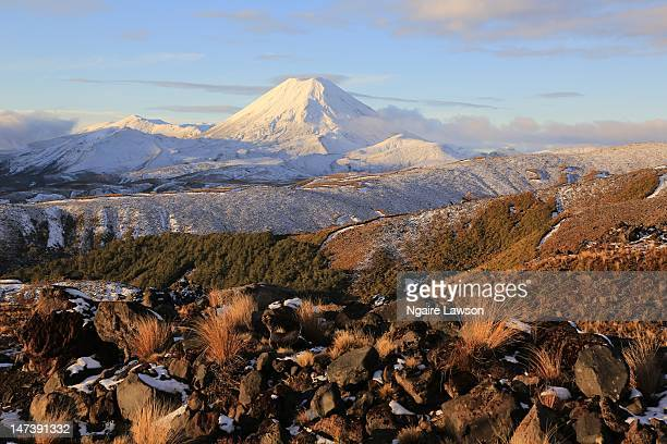 Tongariro National Park mountains