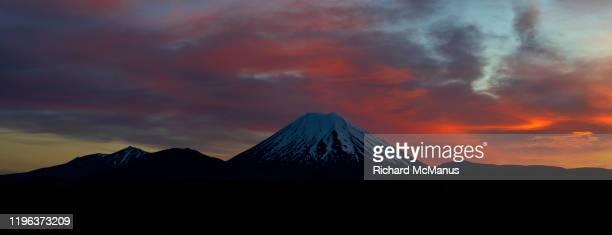 tongariro national park. - international landmark stock pictures, royalty-free photos & images