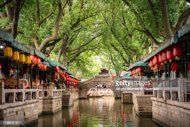 tongli water town - shanghai stock pictures, royalty-free photos & images