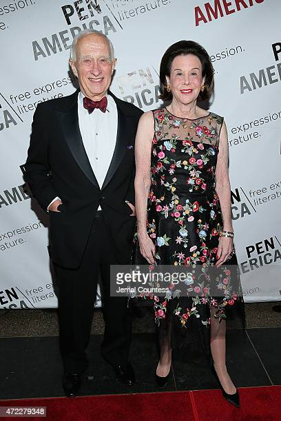 Toni and James C Goodale attend the PEN American Center Literary Gala at American Museum of Natural History on May 5 2015 in New York City