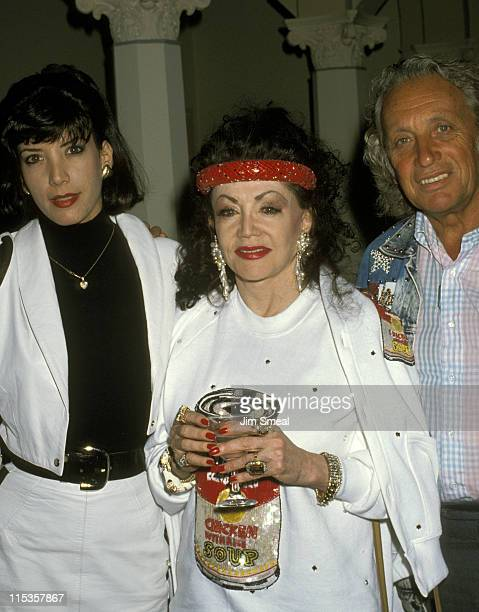 Toni Ann Stallone Jackie Stallone And during Jim Bailey's Benefit Gay Lesbian Adolescent Social Services May 23 1990 at Hollywood Roosevelt Cinegrill...