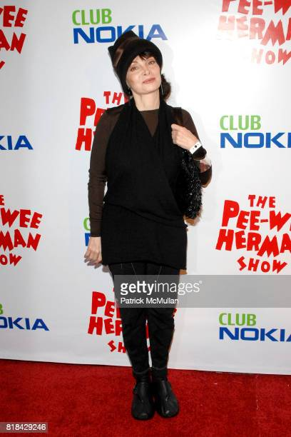 Toni Basil attends The Pee Wee Herman Show Opening Night at Club Nokia on January 20 2010 in Los Angeles California