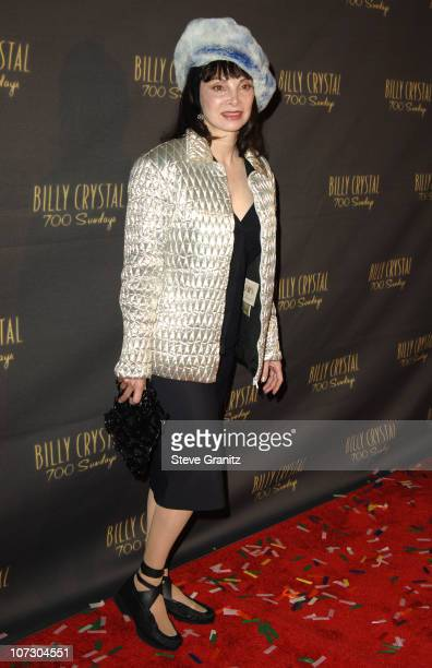 """Toni Basil during Los Angeles Opening Night of The Tony Award Winning Broadway Show Billy Crystal """"700 Sundays"""" at Wilshire Theatre in Beverly Hills,..."""