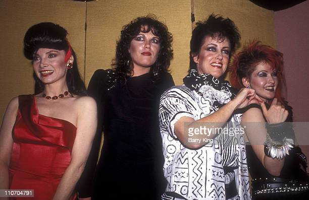 Toni Basil Martha Davis Grace Slick and Cyndi Lauper
