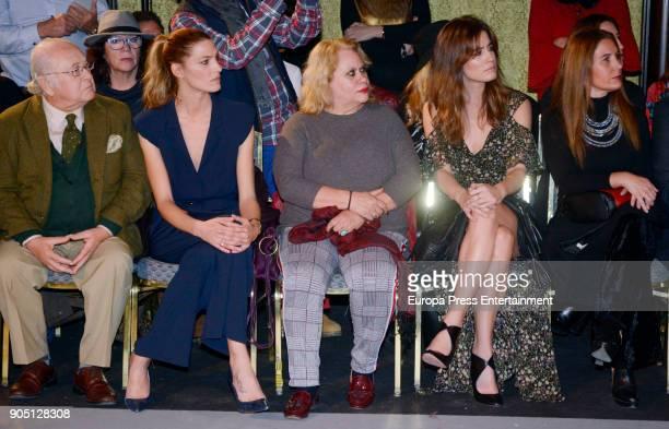 Toni Benitez Laura Sanchez Carmina Barrios and Isabel Jimenez attend 'We love Flamenco 2018' on January 13 2018 in Seville Spain