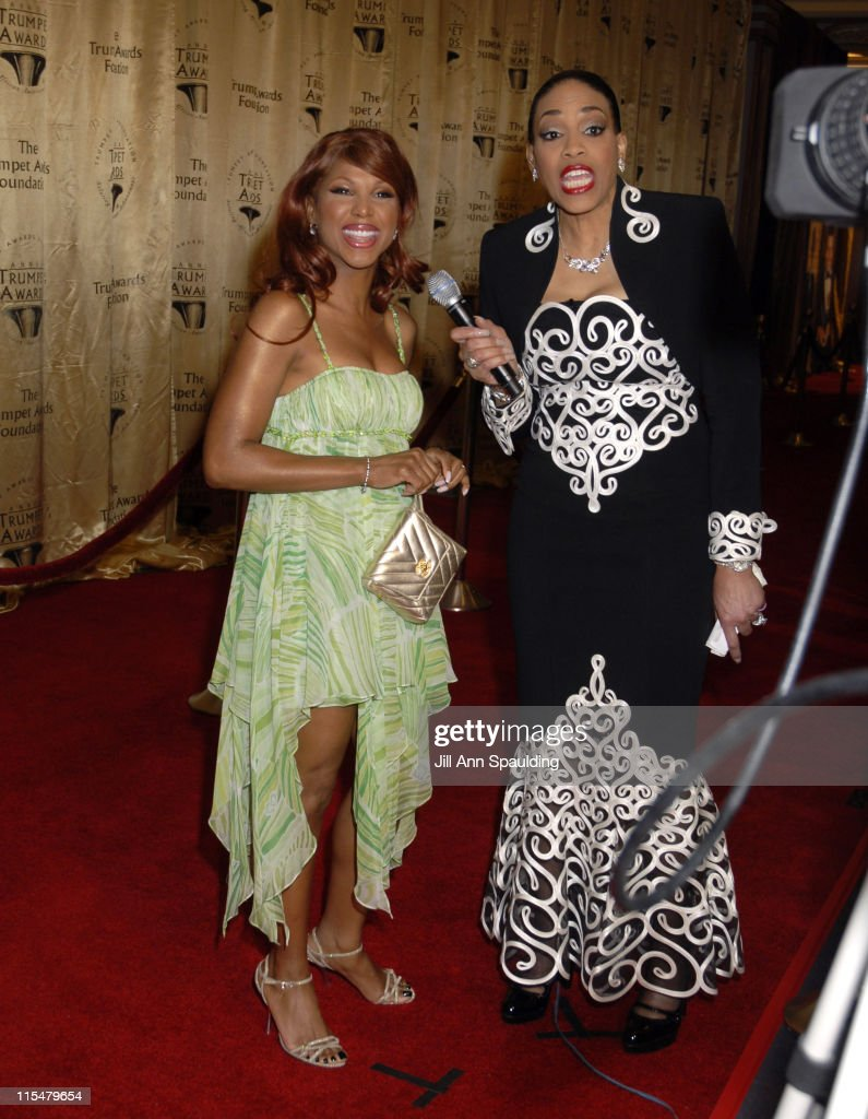 Toni Braxton and Vickie Winans during 2007 Trumpet Awards Celebrate African American Achievement at Bellagio Hotel in Las Vegas, Nevada, United States.