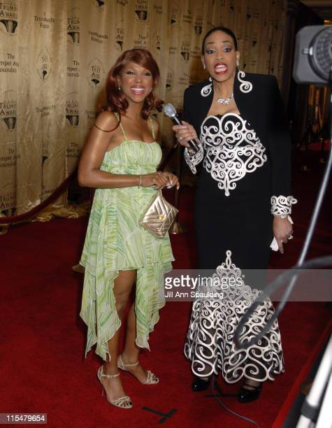 Toni Braxton and Vickie Winans during 2007 Trumpet Awards Celebrate African American Achievement at Bellagio Hotel in Las Vegas Nevada United States
