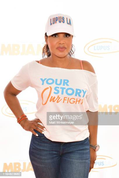 Toni Braxton attend the 3rd annual MBJAM19 presented by Michael B Jordan and Lupus LA at Dave Busters on July 27 2019 in Hollywood California