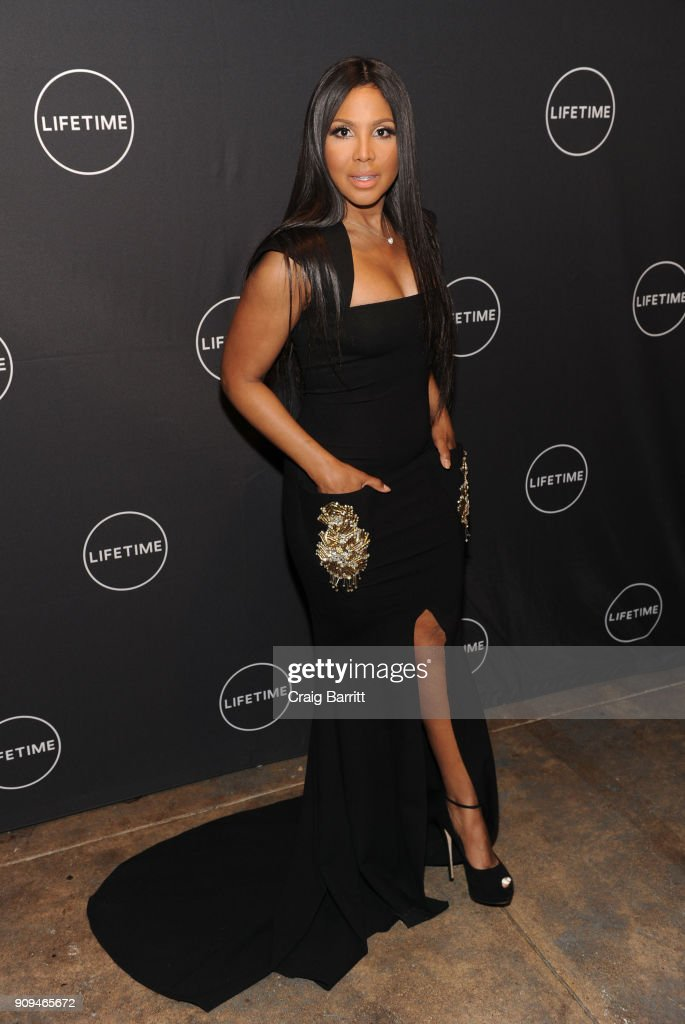 """The Cast And Producers From Lifetime""""s Film,""""Faith Under Fire: The Antoinette Tuff Story"""" Attend The Red Carpet Screening And Premiere Event At NeueHouse Madison Square In New York, NY : News Photo"""